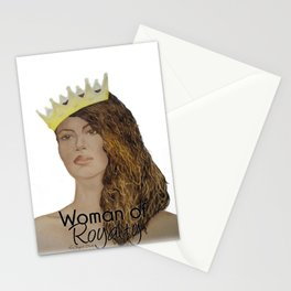 Woman of Royalty Stationery Cards