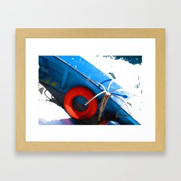 Lifesaver Framed Art Print