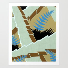 AGONDA Art Deco Modern: GENTLEMEN'S CLUB Art Print