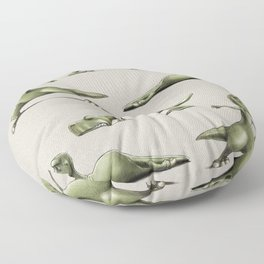 Yogasaurs (Sand) Floor Pillow