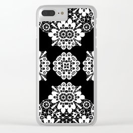 lace ornament Clear iPhone Case