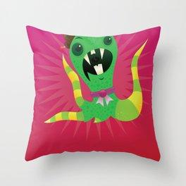 Mel the Quatropus. Throw Pillow