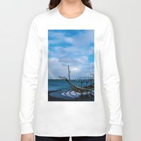 vikings Long Sleeve T-shirts featuring Remember the Vikings by Alex Tonetti Photography