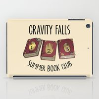 gravity falls iPad Cases featuring Gravity Falls: Summer Book Club by pondlifeforme