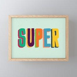 Super Framed Mini Art Print