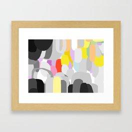 Emotional land Framed Art Print