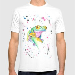 Frog - Watercolor Painting T-shirt