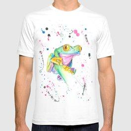 Frog - Watercolor Painting T-shirt