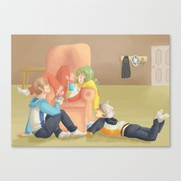 Sports Moms Canvas Print