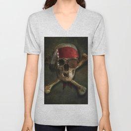 Once a pirate Unisex V-Neck