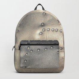 Aluminium Aircraft Skin Abstract Texture Backpack