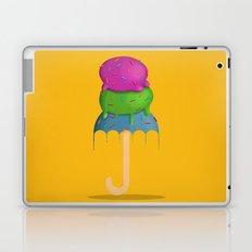ice cream rain Laptop & iPad Skin