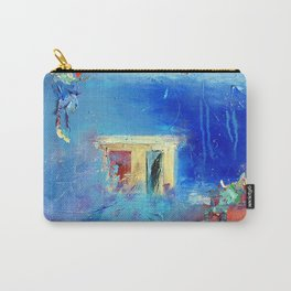 """""""Shelter"""" Abstract Art by Nadia Janjua Carry-All Pouch"""