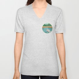 Cataract Gorge, Tasmania Unisex V-Neck