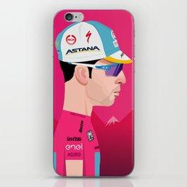 Vincenzo Nibali | Side Profile iPhone Skin