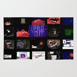 The Big Gib: SpaceCom Chapter 1 - Game Art Rug