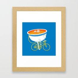 GoGo Ramen Framed Art Print