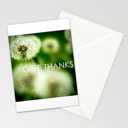 Give Thanks Stationery Cards