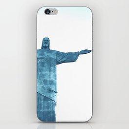 Christ Redeemer Rio de Janeiro - Art iPhone Skin