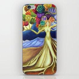 Grace in Full Bloom iPhone Skin