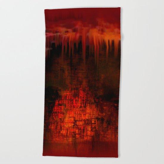 Cave 02 / Golden Fantasy in Palace / wonderful world 07-11-16 Beach Towel