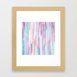 Colorful Design Framed Art Print