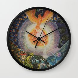 Landscape of the Soul Wall Clock