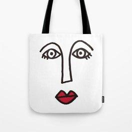Face Tote Bag