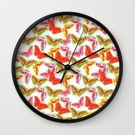 Flutter by Butterfly Wall Clock