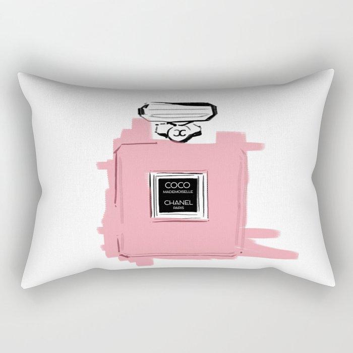 Pink perfume #6 Rectangular Pillow