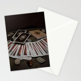 Card readings and Stones Stationery Cards