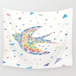 Triangled Swallow Wall Tapestry