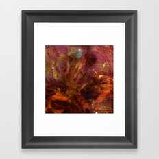 Dehiscence 18 Framed Art Print