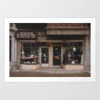 Rothschild Store Art Print
