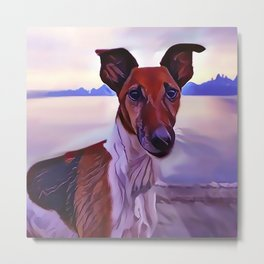 The Ibizan Hound Metal Print