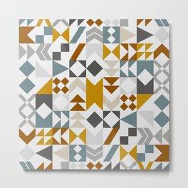 Mid West Geometric 06 Metal Print