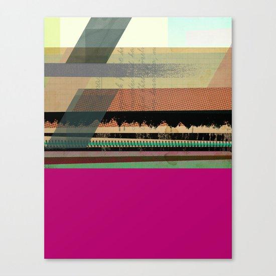 Pink Block Canvas Print