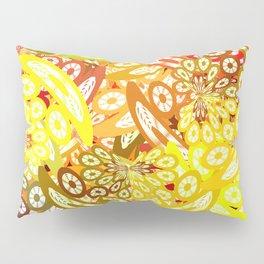 Fruity geometric abstract Pillow Sham