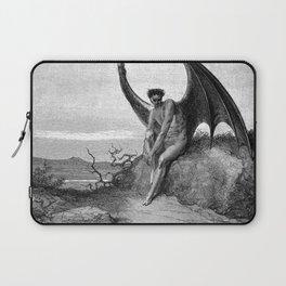 Lucifer, the fallen angel - Gustave Dore Laptop Sleeve