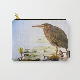 Crowned Night-Heron- Hammond pond Carry-All Pouch
