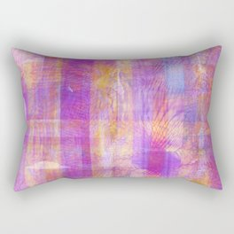 Marbled Patchwork Rectangular Pillow