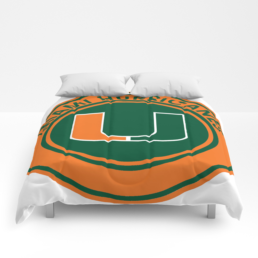 Hurricanes Of Miami Comforter by Spacestuffplus CMF7979166