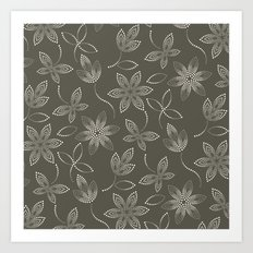 MAUA flora Art Print