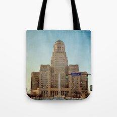 Down Town City Hall Buffalo NY Tote Bag