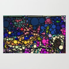Stained Glass Jewels Rug