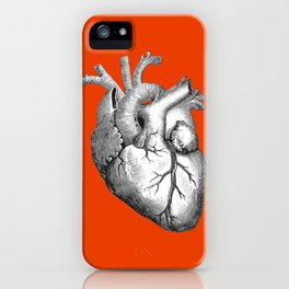 Hearty Red iPhone Case