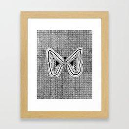 Hopeful Butterfly Framed Art Print