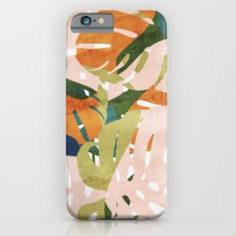 Monstera delight iPhone Case