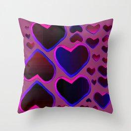 Purple Heart Throw Pillow