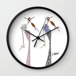 Fanny & Diana Wall Clock